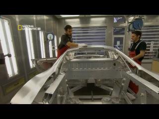 National Geographic HD. Производство Audi R8 в Неккарзульме (Германия).